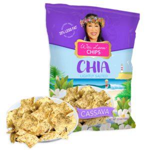 Chia Cassava Chips (Gluten-Free)