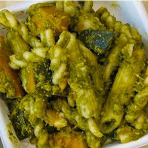 Kabocha Pesto Pasta