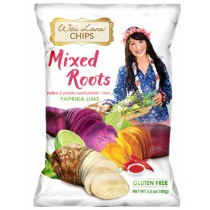 Paprika Lime Mixed Roots Chips (Gluten-Free)