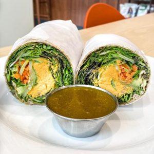 Ōlena Hummus Wrap